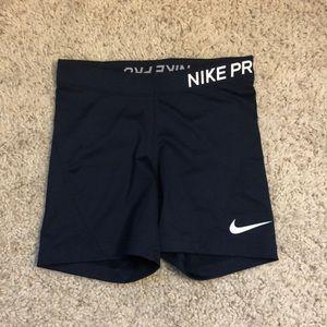 Navy Nike Pro Spandex